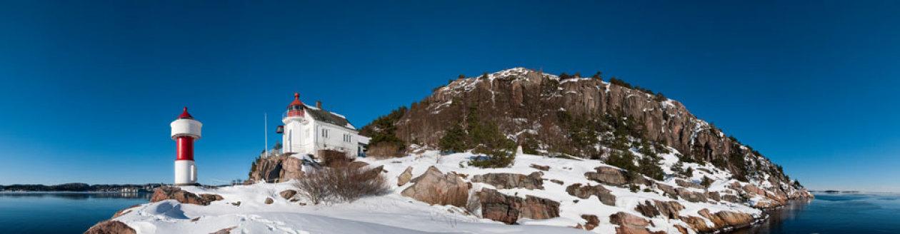Odderøya fyr i Kristiansand